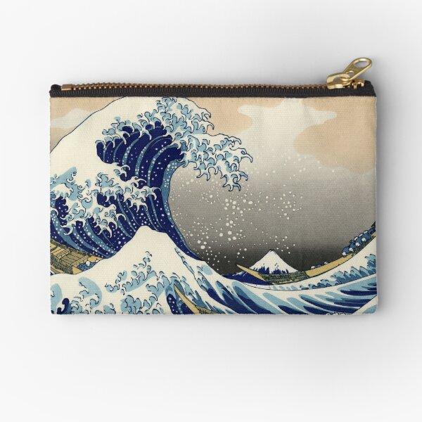 Great Wave Zipper Pouch