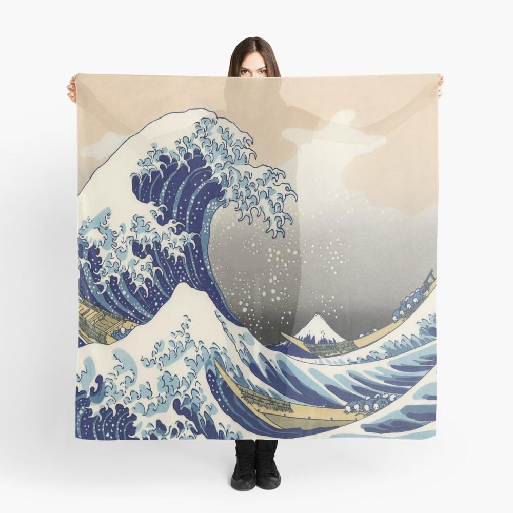 Große Welle Tuch