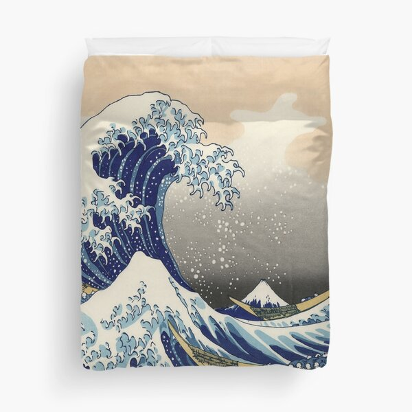 Great Wave Duvet Cover