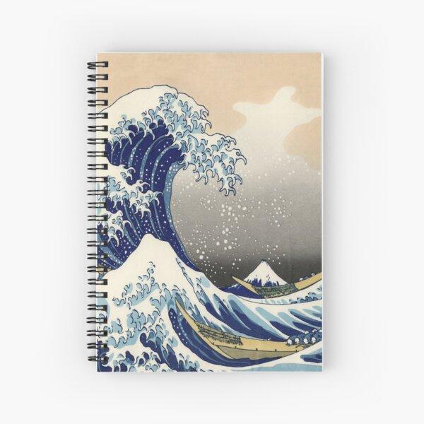 Great Wave Spiral Notebook