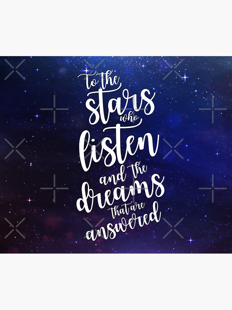 To the stars who listen and the dreams that are answered by yairalynn