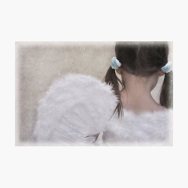 heaven must be missing an angel... Photographic Print