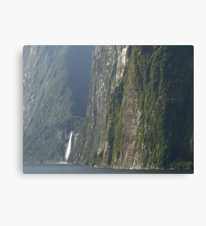 The hills in New Zealand are high! Canvas Print