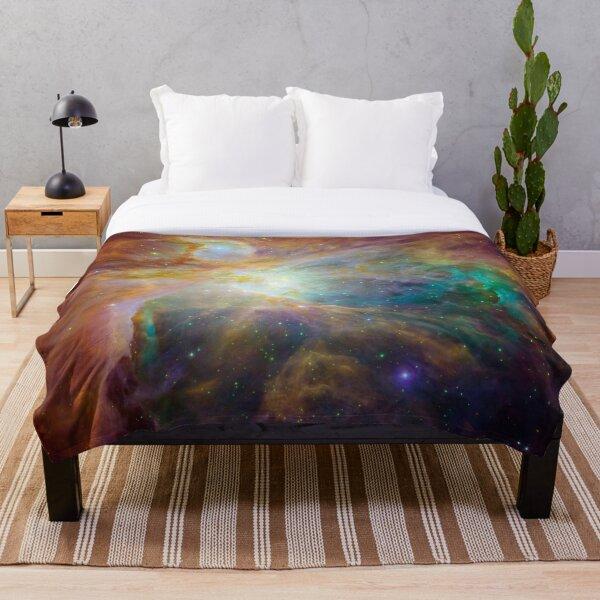 Galaxy Rainbow v2.0 Throw Blanket