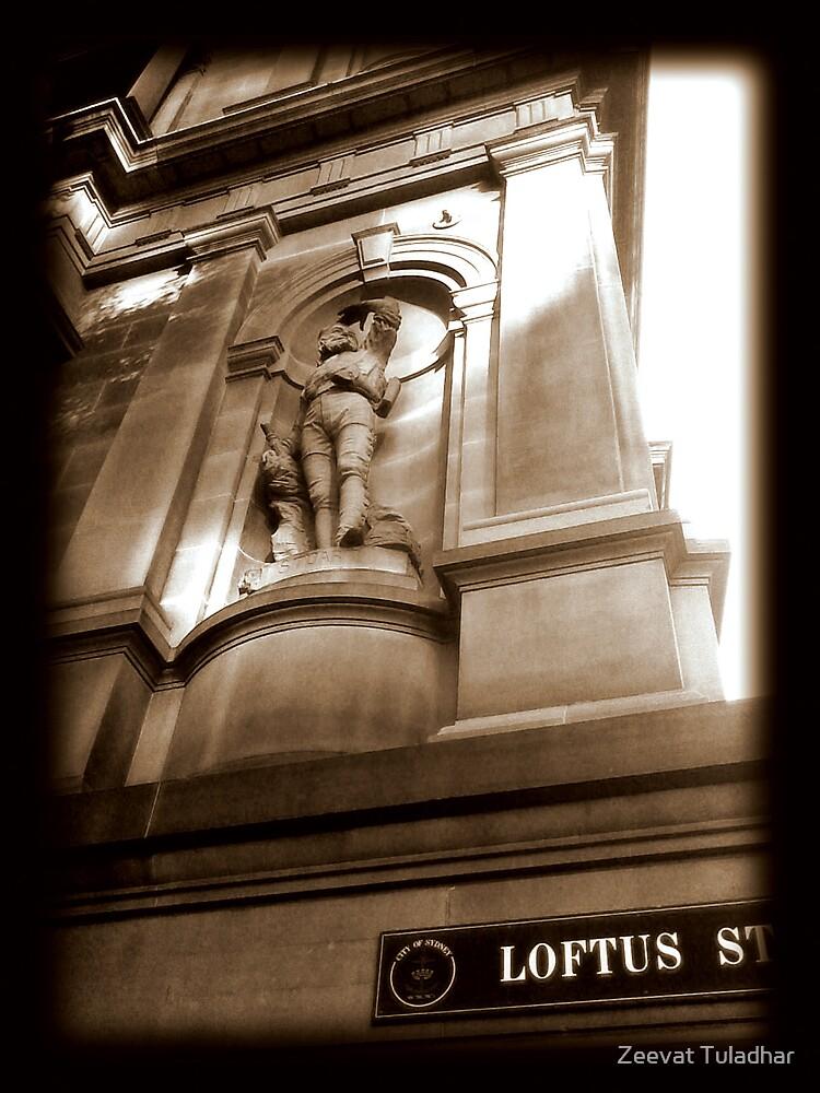 Loftus Street by Zeevat Tuladhar