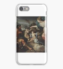 North Italian School, Early 18th Century , Juno appearing to Io and Argus iPhone Case/Skin