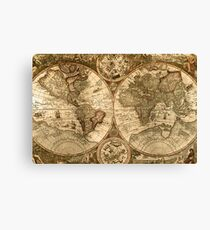 Ancient Map Canvas Print