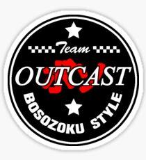 OUTCAST Bosozoku Style Sticker
