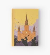New Orleans The Big Easy Vintage Travel Poster Hardcover Journal