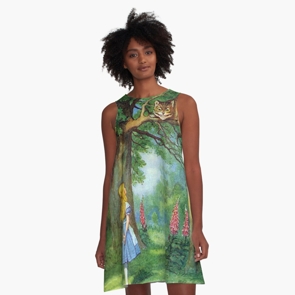 Chesire Cat A-Line Dress