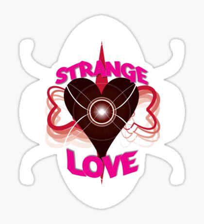 Strange Love Sticker