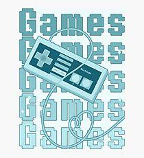 Games!!! Photographic Print