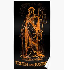 Truth and Lady Justice Poster