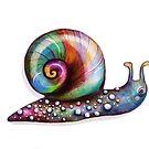 Rainbow Snail by Karin Taylor