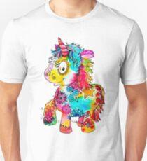 Funny Hue, the colorful unicorn Unisex T-Shirt