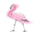 flamingo by Matt Mawson