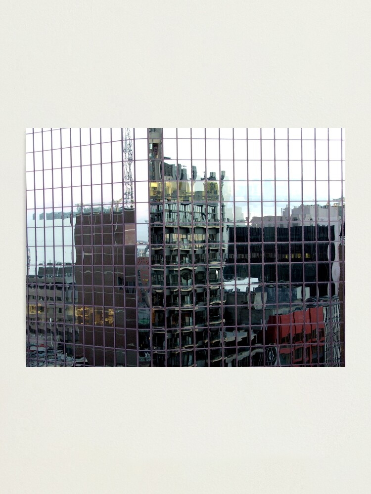 Alternate view of Melbourne blocks Photographic Print
