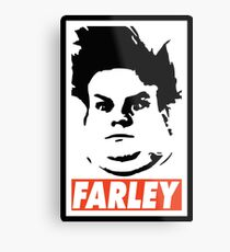 FARLEY Metal Print