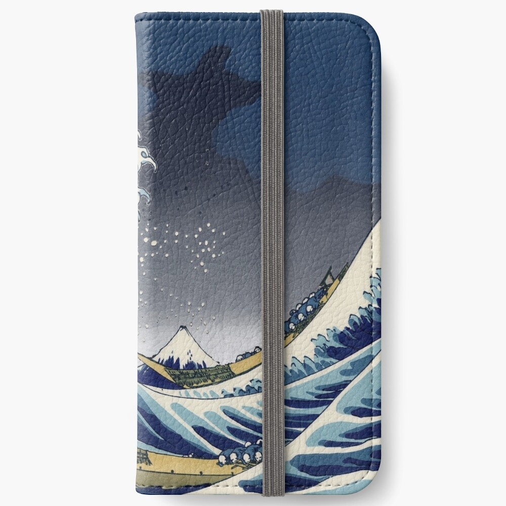 Great Wave: Kanagawa Night iPhone Wallet