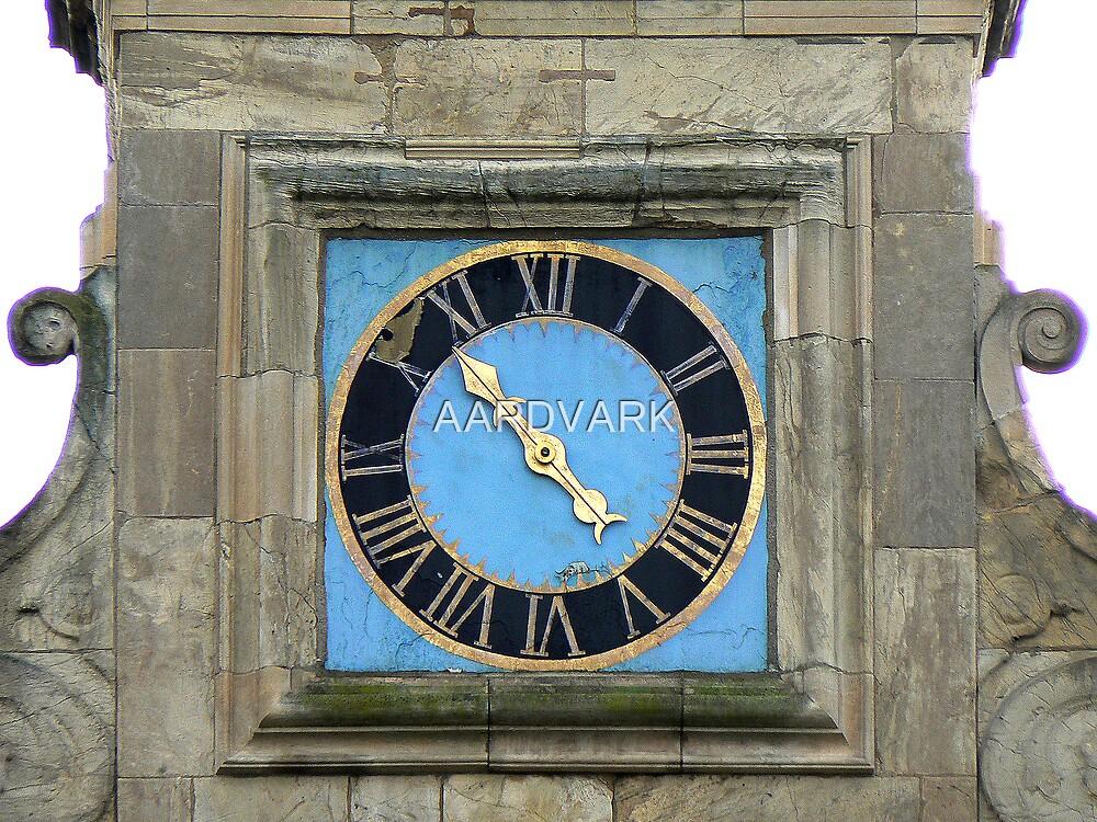 The Clock At York Castle by AARDVARK