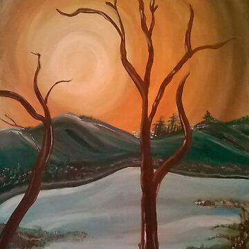 Autumn Sky by deemilton