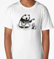 Banjo Panda Long T-Shirt