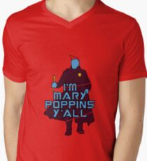 I am Mary Poppins Men's V-Neck T-Shirt