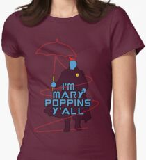 I am Mary Poppins Women's Fitted T-Shirt