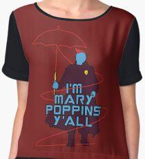 I am Mary Poppins Chiffon Top