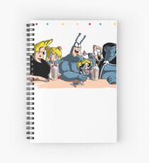 Nineties Friends Spiral Notebook