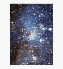 Lámina fotográfica Galaxia azul