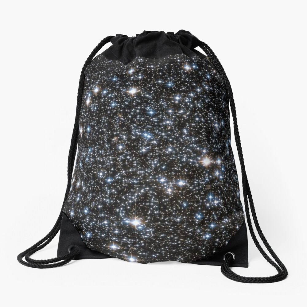 Glitter Galaxy Drawstring Bag