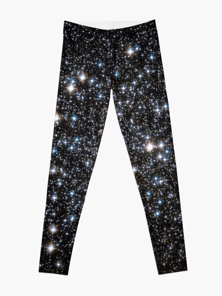 Alternate view of Glitter Galaxy Leggings