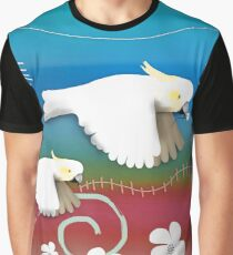 Sulphur-crested Cockatoos II Graphic T-Shirt