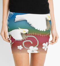 Sulphur-crested Cockatoos II Mini Skirt
