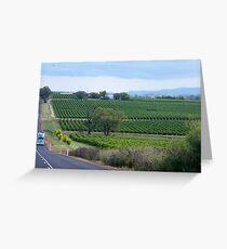 Gulgong Vineyard Greeting Card