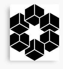 Isometric cubes Canvas Print