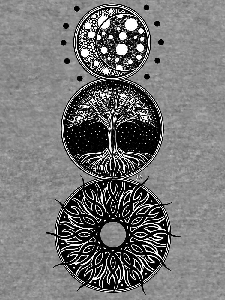 EP. MOON / LIFE / SUN by eyespsyche