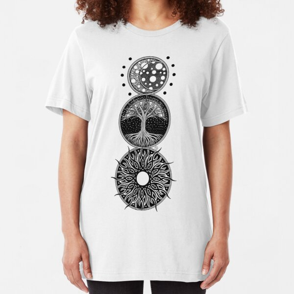 EP. MOON / LIFE / SUN Slim Fit T-Shirt