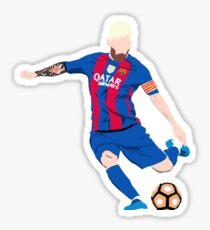Lionel Messi Cartoon Sticker