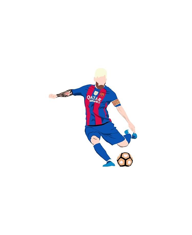 Lionel Messi Cartoon Ipad Case Skin By Xandereis Redbubble