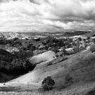 Murchison Gap Panorama - Victoria Australia by Norman Repacholi