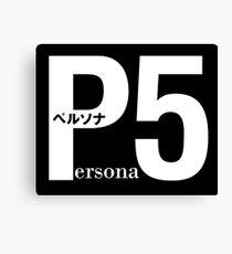 persona 5 Canvas Print