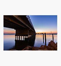 Forster Bridge at Sunset Photographic Print