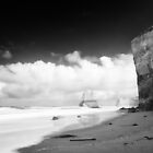 In the shadow of time - Great Ocean Road by Norman Repacholi