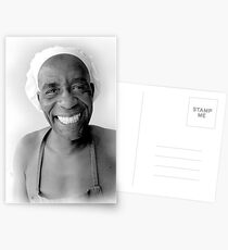 The smiling Chef Postcards