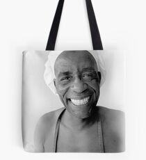 The smiling Chef Tote Bag
