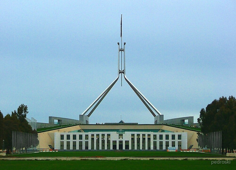 Parliament House Canberra by pedroski