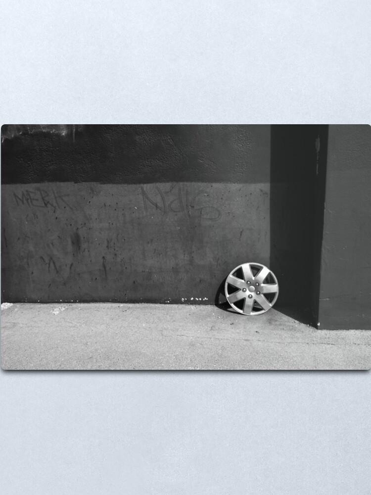Alternate view of Urban detritus - Brisbane Queensland Metal Print