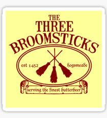 The Three Broomsticks Inn Sticker